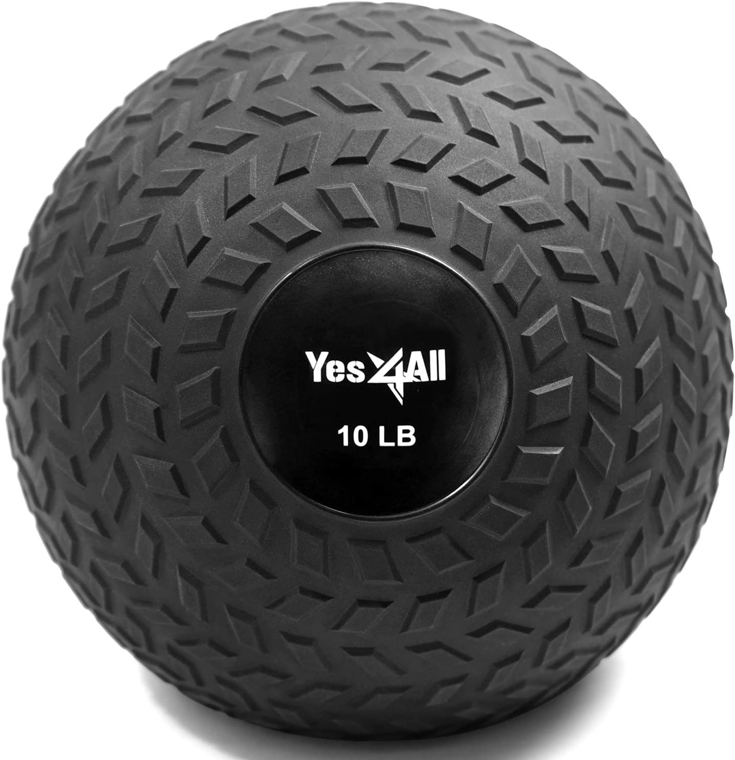 Yes4All Slam Balls (black & blue) 10-40lbs for Strength and Crossfit Workout – Slam Medicine Ball