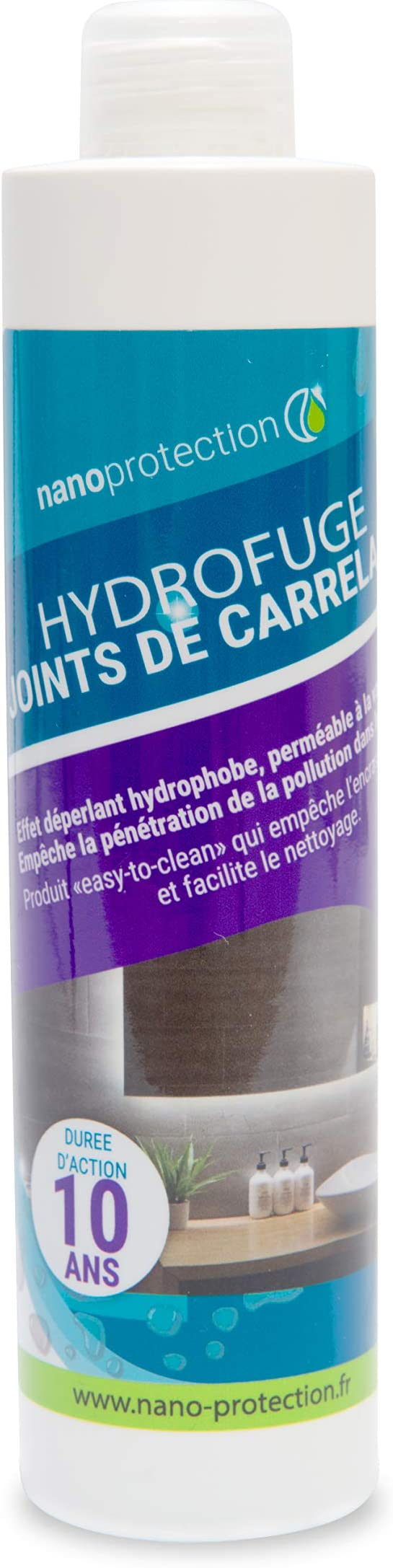 Nanoprotection Traitement Nano Hydrofuge Joints De Carrelage A Base D Eau Flacon 250 Ml 25 M Environ Amazon Fr Cuisine Maison