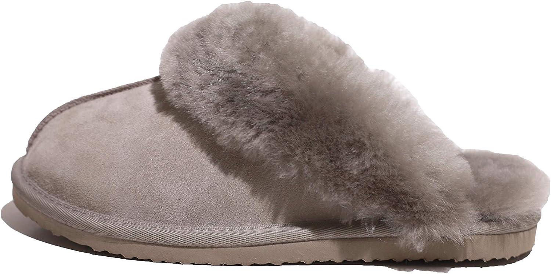 Reissner Lammfelle Chaussure pour b/éb/é Beige en Peau de Mouton avec Velcro 1-Velcro