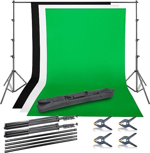 Emart Fotografie Foto Video Studio Hintergrund Ständer Kamera