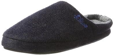 Herren 17302 Pantoffeln, Blau (Navy), 41 EU s.Oliver