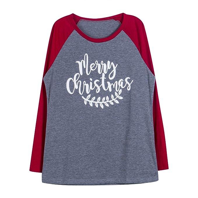 Pijama Familiar de Navidad, Camisa de Manga Larga Navideño de ...