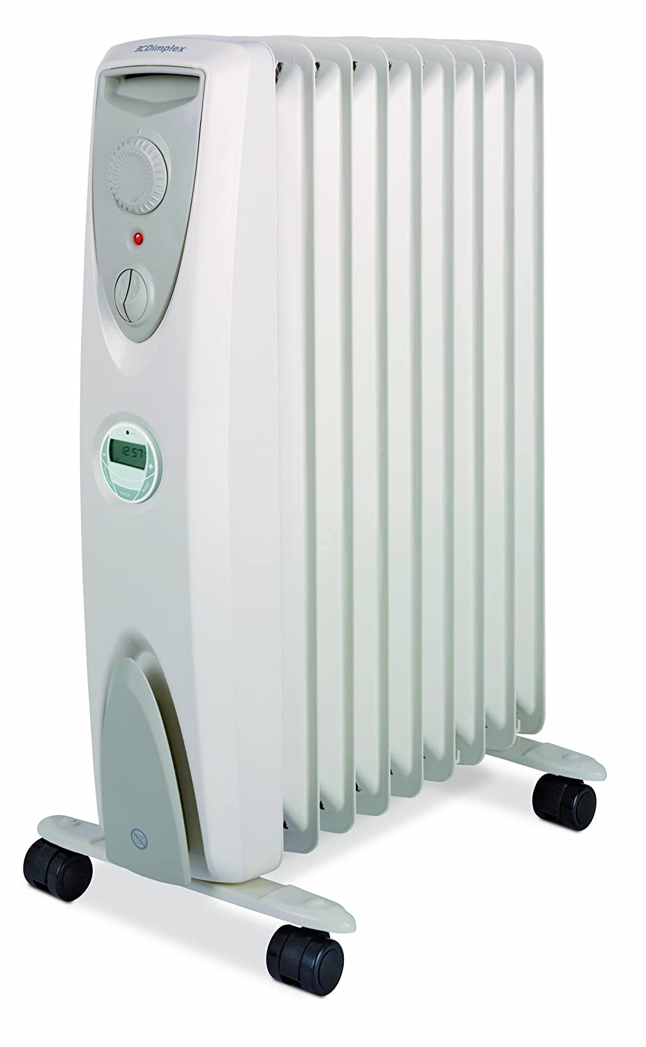Dimplex OFRC20TIC Electric Oil Free Column Heater with Timer, 2 Kilowatt Heating Solutions Portable Heaters Home_Environment Oil Filled Radiator
