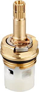 Danco 10472 4Z-24H Hot and Cold Replacement Stem for American Standard Faucets, 1-Pack, Pack of 1, Brass
