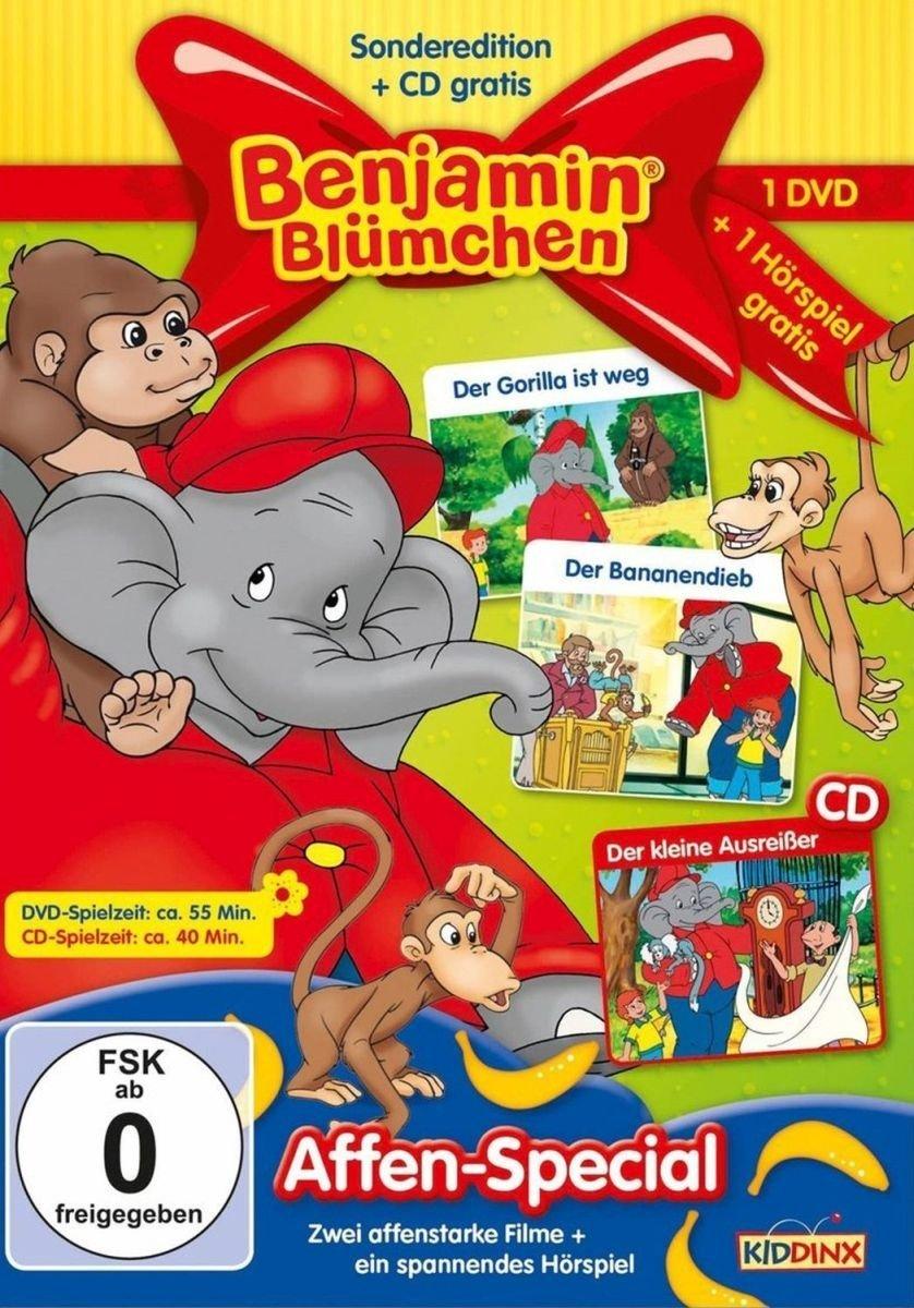Benjamin Blümchen Affen Special CD 2 DVDs Amazon DVD & Blu ray