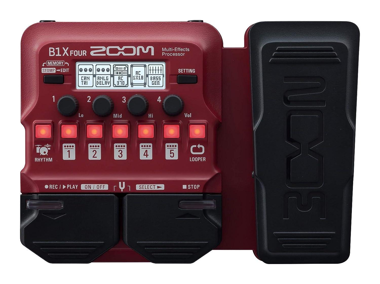 ZOOM ズーム ベース用 マルチエフェクツプロセッサー B1X FOUR   B07Q42GXY7