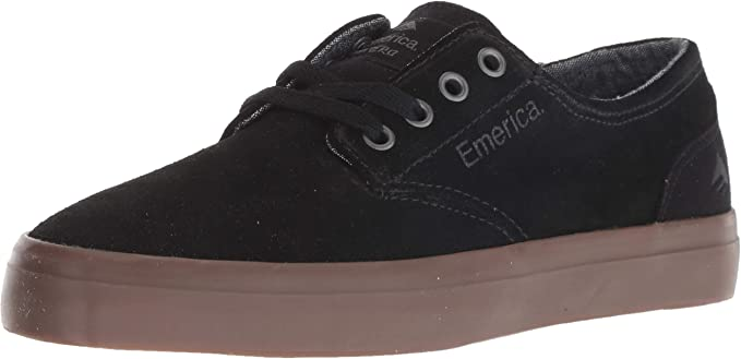 Emerica The Romero Laced Sneakers Kinderschuhe Schwarz