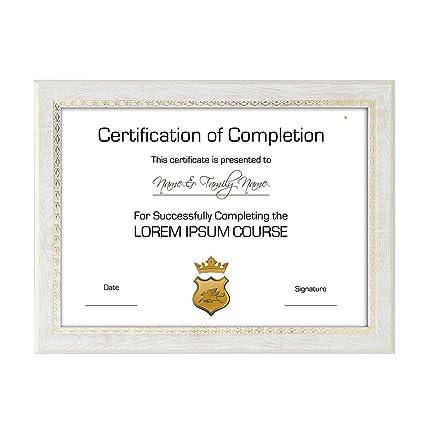 Amazon.com - TtoyouU Document Frame Certificate Frame Diploma Frame ...