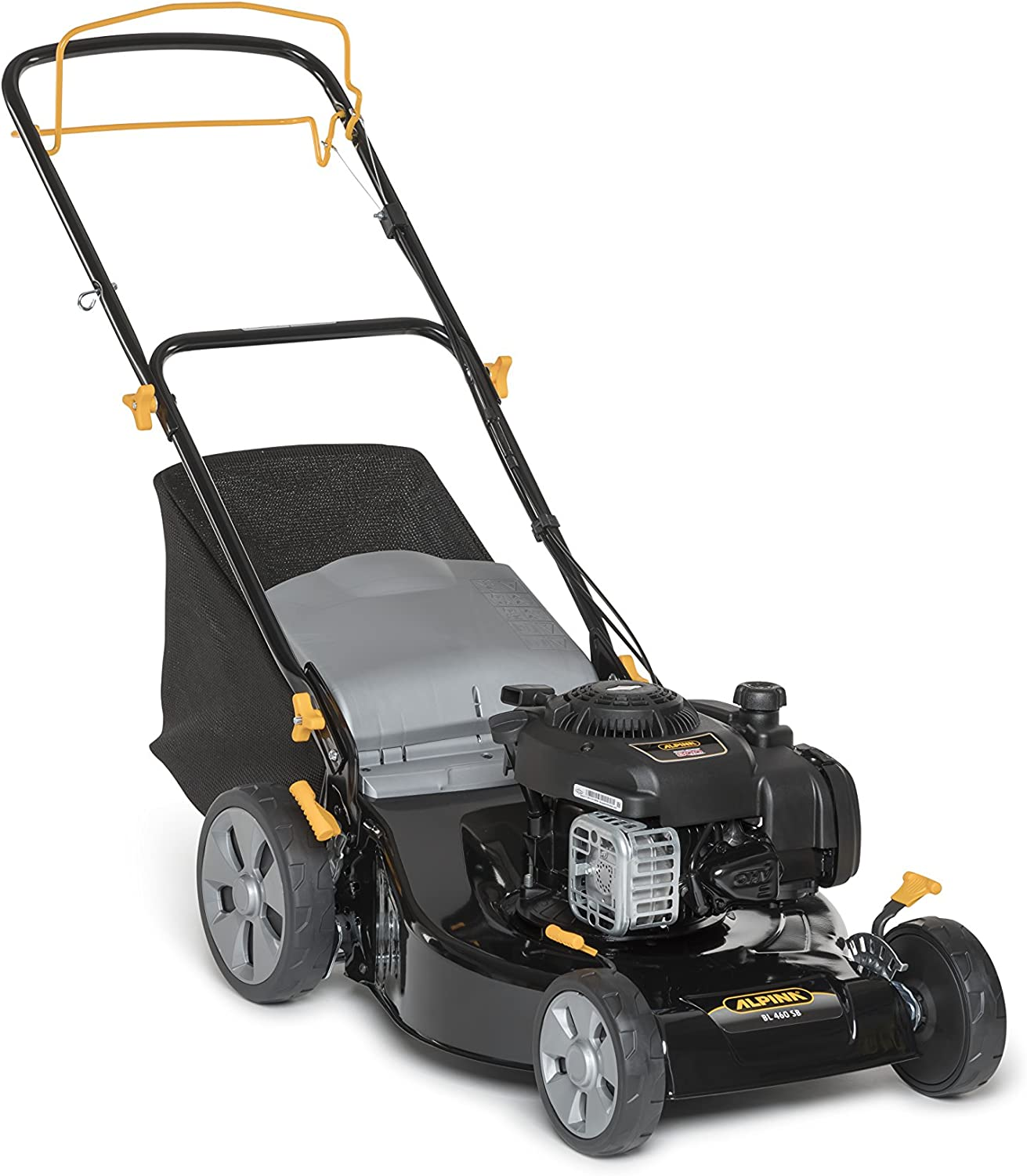 Alpina 295492024/A15 cortadora de césped Walk behind lawn mower Gasolina - Cortacésped (Walk behind lawn mower, 46 cm, 2,7 cm, 8 cm, 900 m², 27-80 mm)