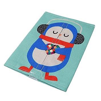 Strandkorb comic  ODN Tiere Comic Leinwand Baumwolle Rucksack Papier Rucksack Handtuch ...
