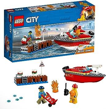 Lego 60213-CITY pompiers-Pompiers au port