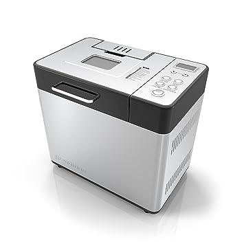 Applica BK1050S Acero inoxidable - Panificadora (Acero inoxidable, 900 g, 15 h, Botones, LCD, 406,4 mm): Amazon.es: Hogar