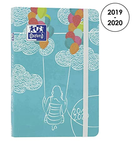 Amazon.com : Oxford Lollie 2019-2020 Daily School Diary 1 ...
