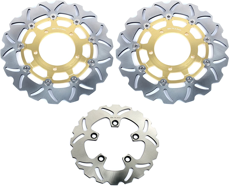 TARAZON Disques de Frein Avant Arri/ère et Plaquettes pour GSXR1000 2007 2008 GSXR600 GSXR750 2006 2007