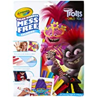 Deals on Crayola Wonder Trolls 2 Pages, Mess Free Coloring