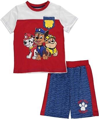 4T Paw Patrol Toddler Boys Pups Away Short Set