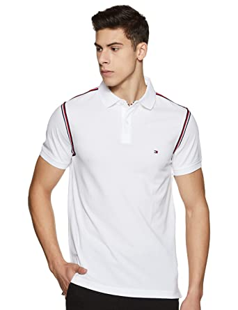 Tommy Hilfiger slim fit polo in white in 2019   Tommy