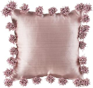 product image for Glenna Jean Maddie Pillow, Pink with Pom Poms