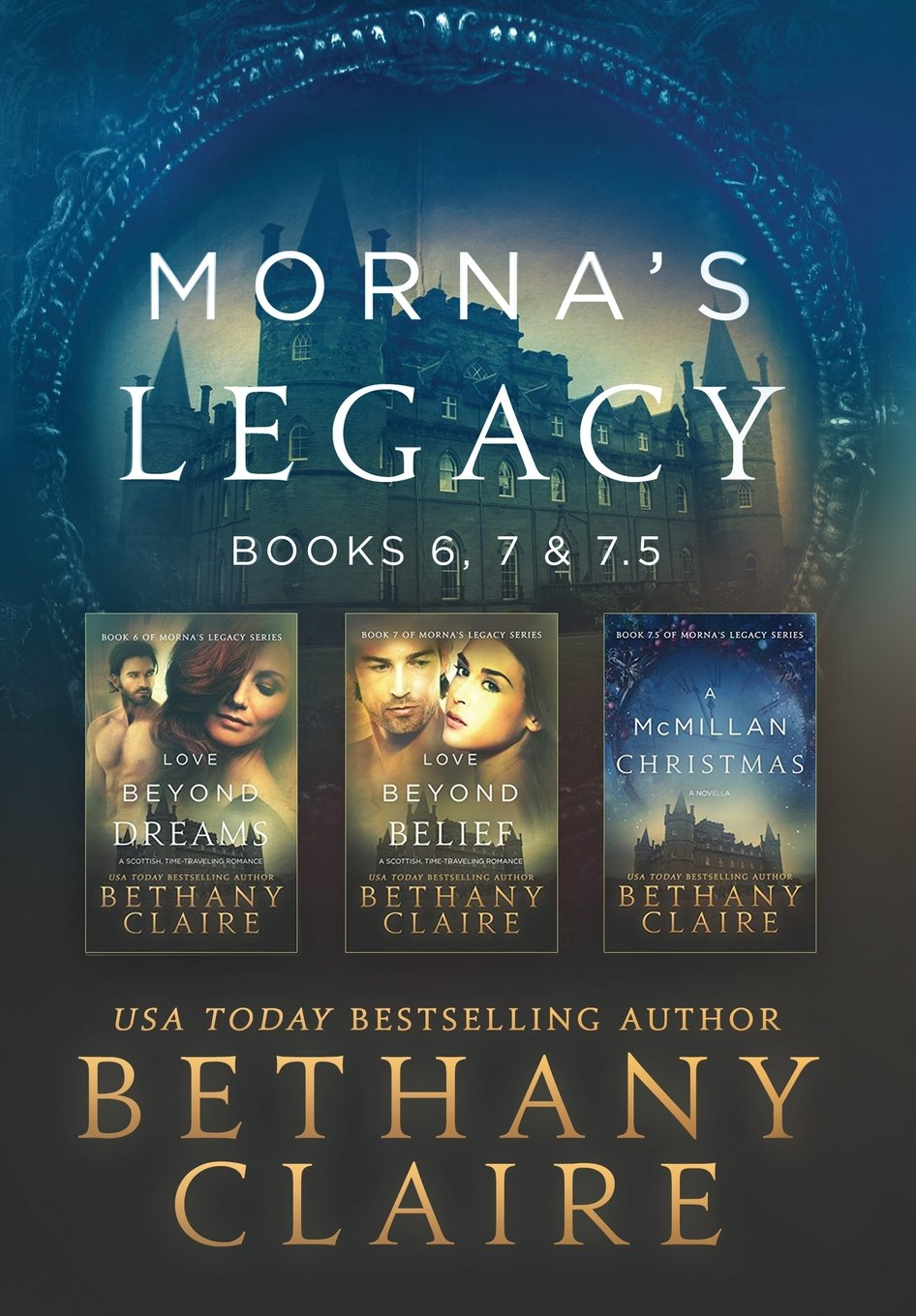 Morna's Legacy: Books 6, 7, & 7.5: Scottish Time Travel Romances (Morna's Legacy Collections) ebook