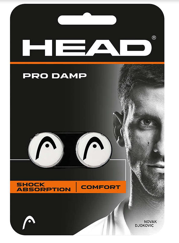 Head Pro Damp, antivibrazioni da racchetta da Tennis, bianco 285515-WH