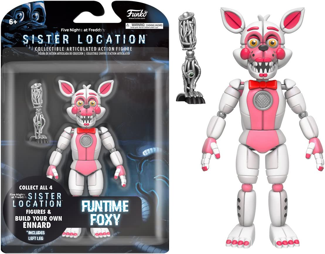 Funko Five Nights at Freddy's FUNTIME FOXY Action Figure Sister Location