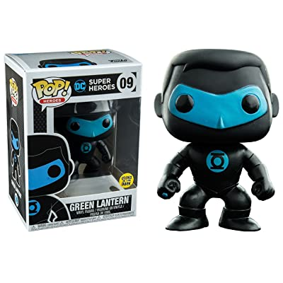 Funko Pop! Vinyl Justice League Green Lantern Silhouette Glow in the Dark Entertainment Earth Exclusive: Toys & Games