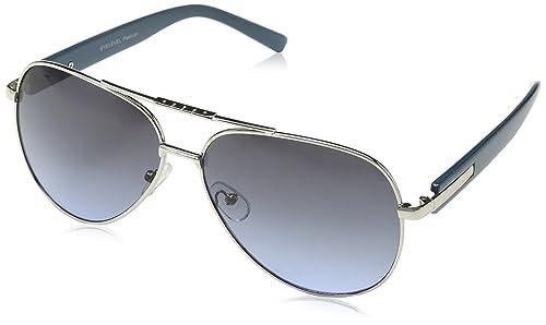 Eyelevel Florida, Gafas de Sol Unisex Adulto, Plateado (Silver Effect), 60