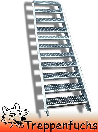 Acero Escaleras/exterior resistente Escaleras/mejilla Escaleras/Estable de la Industria Escaleras para exteriores/Incluye Accesorios/Tallas Elección: Amazon.es: Bricolaje y herramientas
