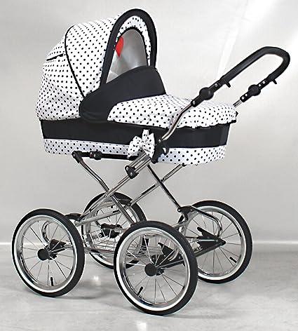 Precioso Retro cochecito bebé carro 2 en 1 K101: Amazon.es: Bebé
