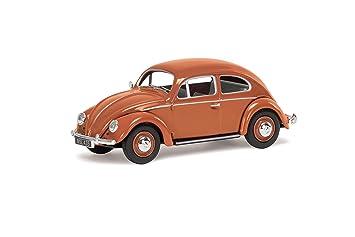 Corgi Va01207 Volkswagen Vw Beetle Coral Oval Rear Window