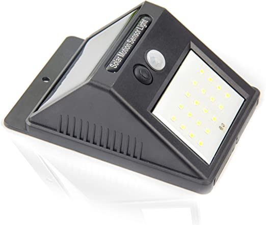 Luz de solar 20 LED, Lámparas Solares Luces de Exterior con Sensor de movimiento de Seguridad Inalámbricas y con Batería Solar Exterior para Jardín Patio Terraza Inicio Camino Escalera Exterior: Amazon.es: Iluminación