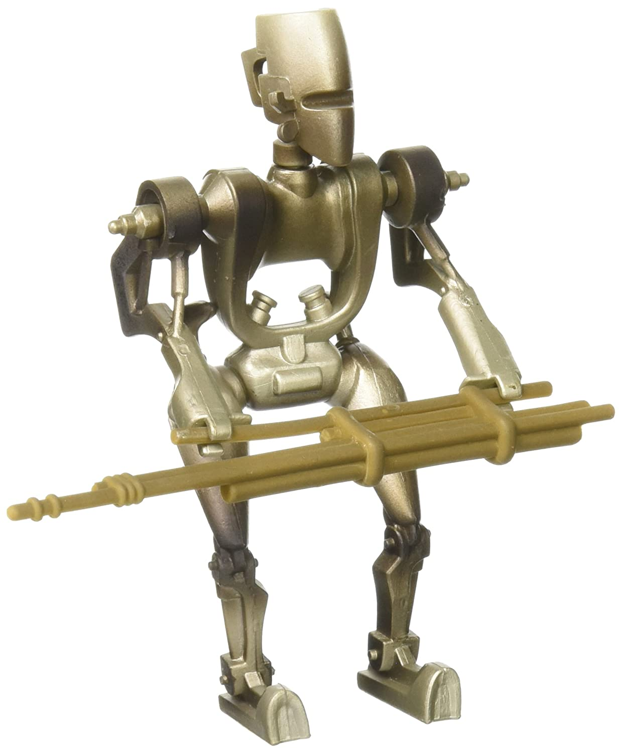 Star Wars The Power of the Force 4 Inch Action Figure ASP-7 Droid with Spaceport Supply Rods Kenner PF0902