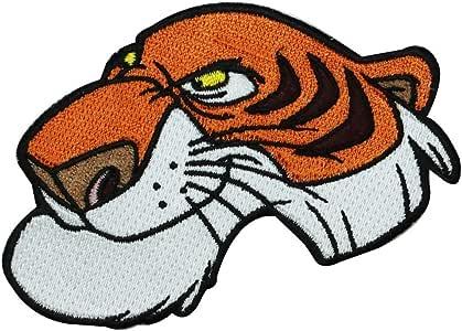 Libro de la selva tigre Shere Khan, para planchar, diseño