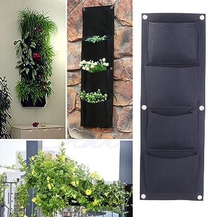 TACOLI   Garden Hanging Planter, Hanging Vertical Garden Wall Planter, Garden  Vertical Planter Multi
