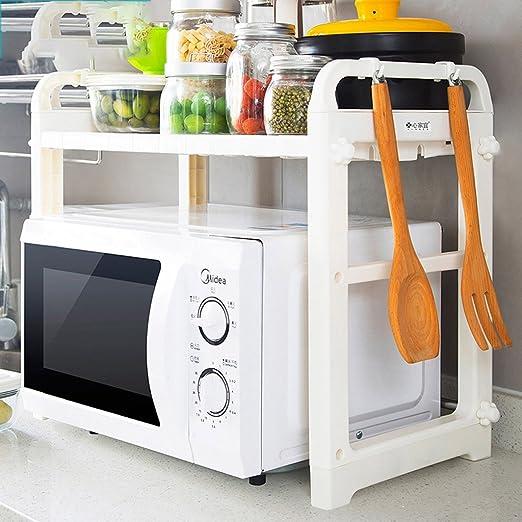 Estante Cocina Microondas Estantería Estantería Estante de ...