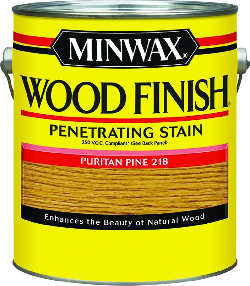 Minwax Wood Finish Puritan Pine Transparent 1 Gl Voc Household Wood Stains Amazon Com
