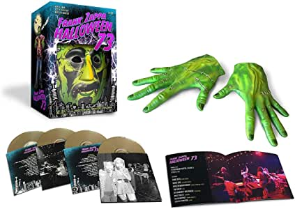 Halloween 73 Boxed Set 4cd Zappa Frank Zappa