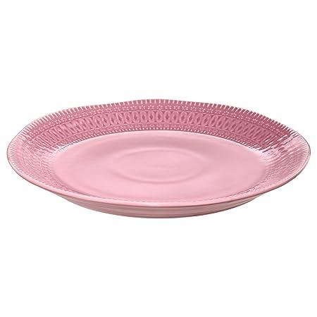 IKEA DINERA Side plate Light pink