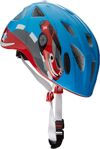 71Ya2di4sxL. AC SL520  - Alpina Ximo Flash Kinder Fahrradhelm, be visible reflectiv, 45-49 cm