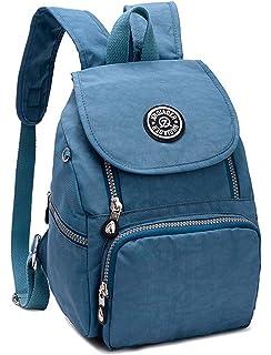 74e90c02ec1f Estwell Women Girls Small Backpack Handbag Waterproof Nylon Shoulder Bag  Travel Bag Casual…
