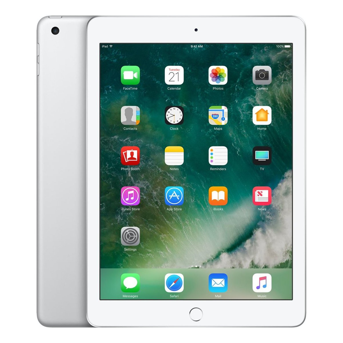 Apple ipad 9 7 inch 2017 model wifi tablet silver apple a9 2 gb ram 32gb rom ios 10