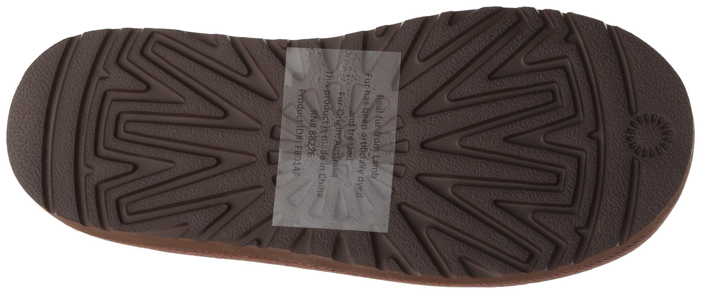 UGG Australia Girls Maddi Chocolate Western Boot - 5 by UGG (Image #3)