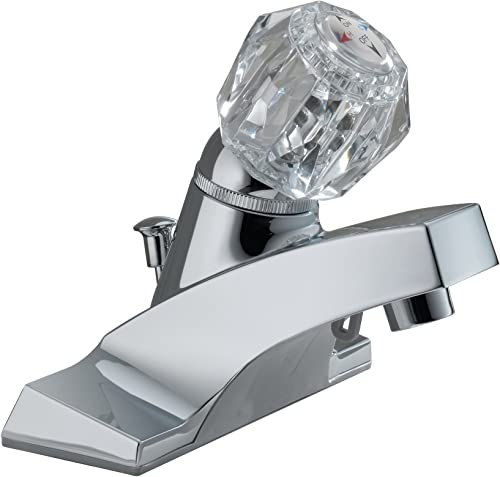 Peerless P35LF Classic Single Handle Centerset Bathroom Faucet, Chrome