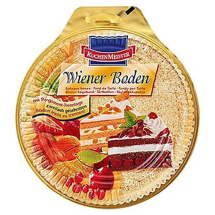 Kuchenmeister Wiener Tortenboden Hell 500 G Packung Amazon De