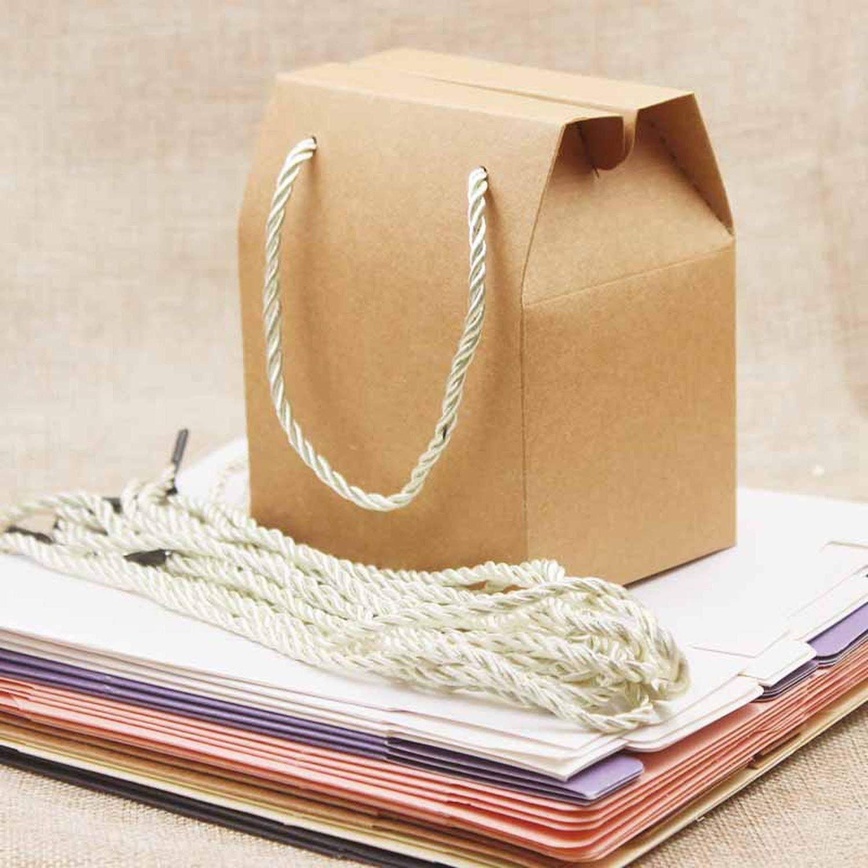 Amazon.com: 10 cajas de papel multicolor para caramelos con ...