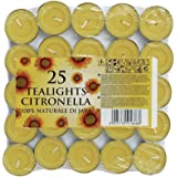 Prices Patent Candles - Confezione da 25 tealight alla citronella