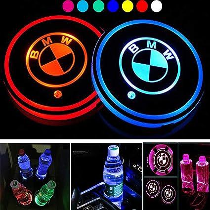Amazon.es: ICESAR Estera del sostenedor de taza del coche del LED ...