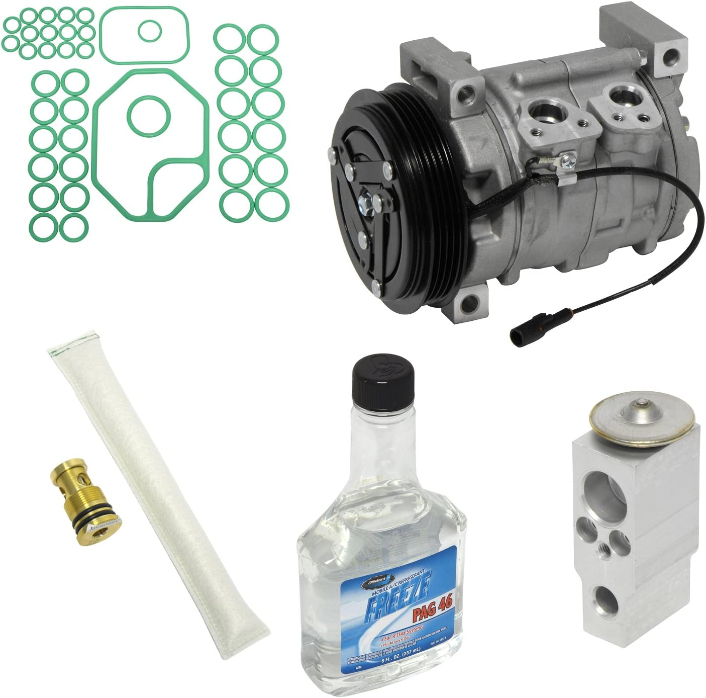 Universal Air Conditioner KT 4079 A//C Compressor and Component Kit