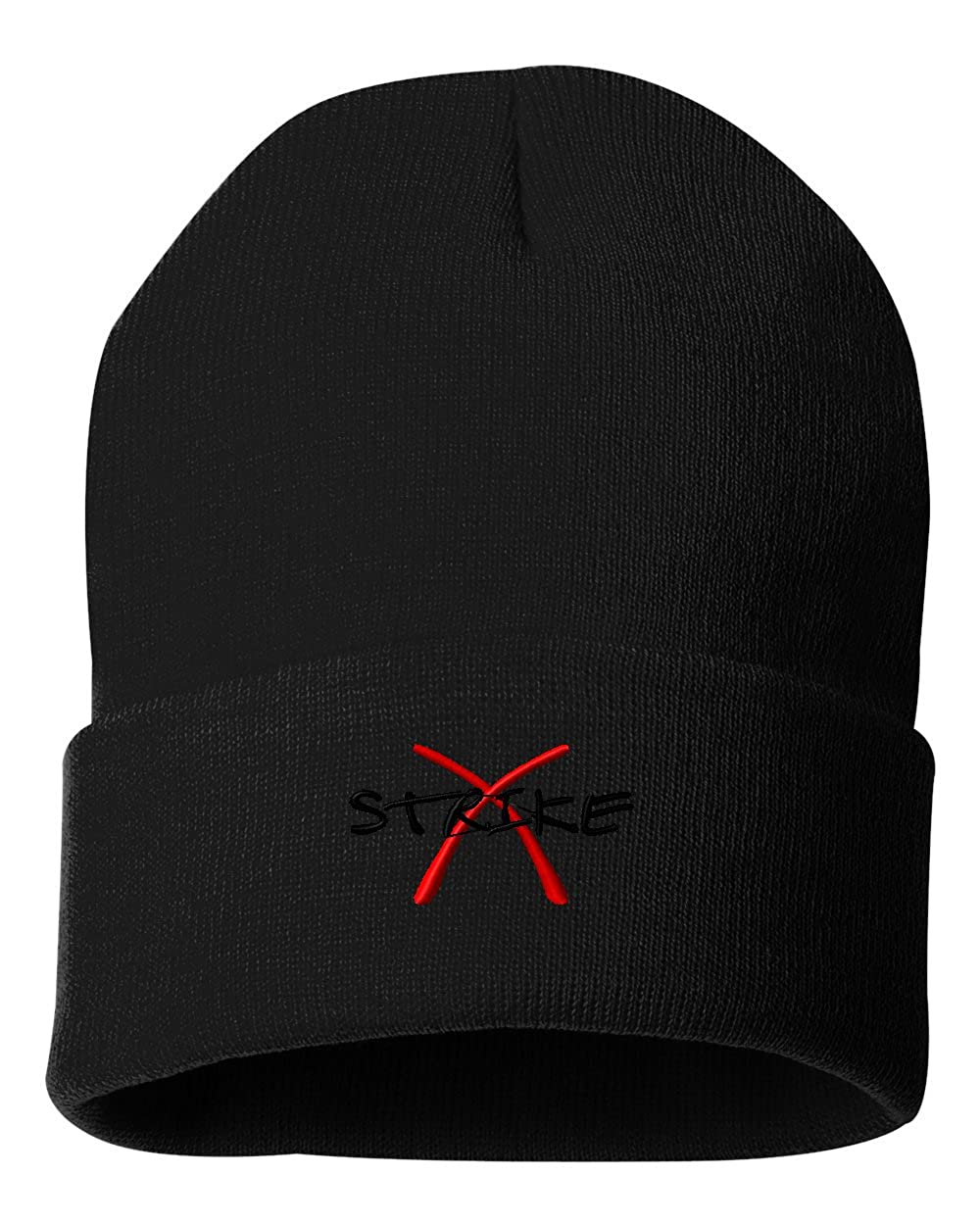 Strike/ Custom Personalized Embroidery Embroidered Beanie