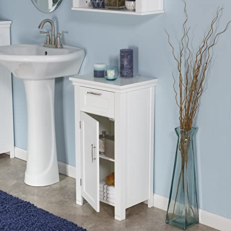 amazon home somerset door floor cabinet white kitchen small bathroom storage brown walmart